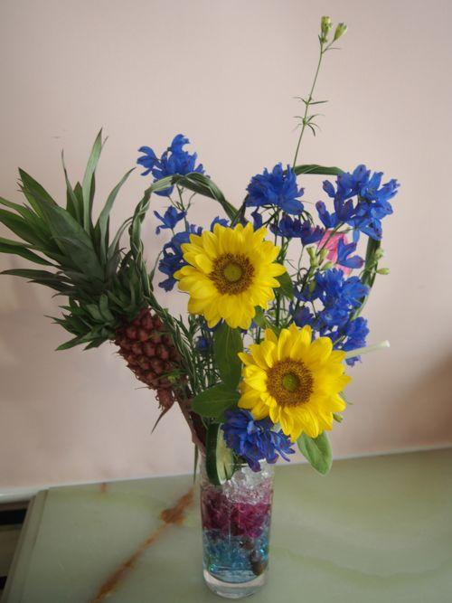 花ギフト|フラワーギフト|誕生日 花|カノシェ話題|スタンド花|ウエディングブーケ|花束|花屋|こくぼさん カクテル