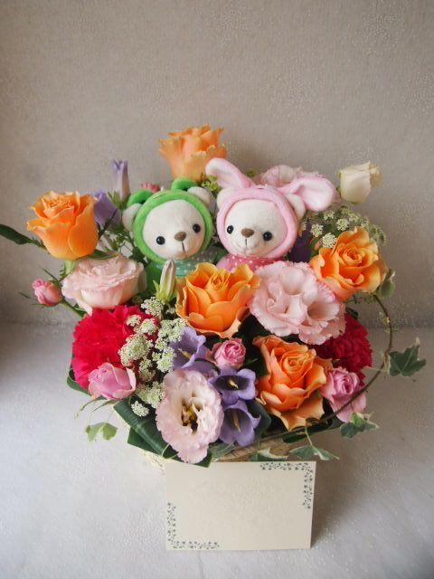 花ギフト|フラワーギフト|誕生日 花|カノシェ話題|スタンド花|ウエディングブーケ|花束|花屋|55818