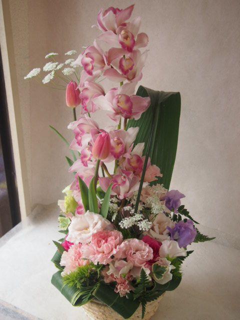 花ギフト|フラワーギフト|誕生日 花|カノシェ話題|スタンド花|ウエディングブーケ|花束|花屋|46619