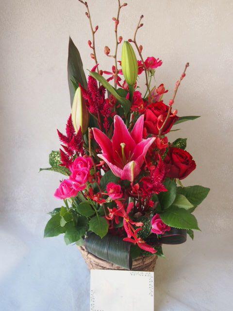 花ギフト|フラワーギフト|誕生日 花|カノシェ話題|スタンド花|ウエディングブーケ|花束|花屋|51192