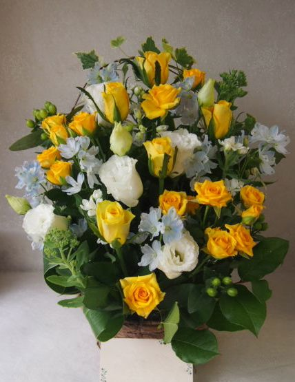 花ギフト|フラワーギフト|誕生日 花|カノシェ話題|スタンド花|ウエディングブーケ|花束|花屋|49061