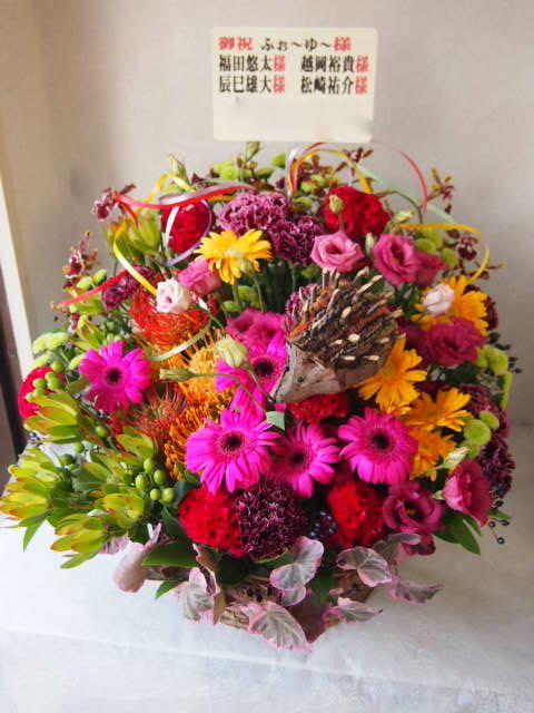 花ギフト|フラワーギフト|誕生日 花|カノシェ話題|スタンド花|ウエディングブーケ|花束|花屋|58237