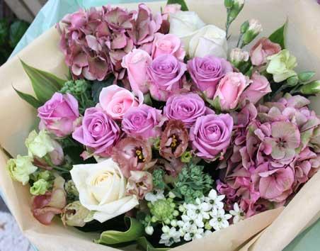 花ギフト|フラワーギフト|誕生日 花|カノシェ話題|スタンド花|ウエディングブーケ|花束|花屋|あじさい