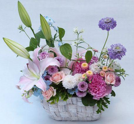花ギフト|フラワーギフト|誕生日 花|カノシェ話題|スタンド花|ウエディングブーケ|花束|花屋|2016_haha_a4