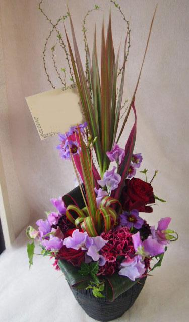 花ギフト|フラワーギフト|誕生日 花|カノシェ話題|スタンド花|ウエディングブーケ|花束|花屋|P1301799