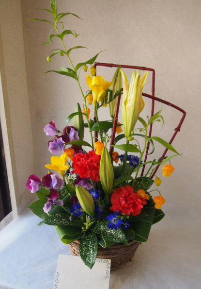 花ギフト|フラワーギフト|誕生日 花|カノシェ話題|スタンド花|ウエディングブーケ|花束|花屋|53713