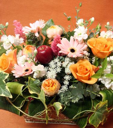 花ギフト フラワーギフト 誕生日 花 カノシェ話題 スタンド花 ウエディングブーケ 花束 花屋 ガーベラ
