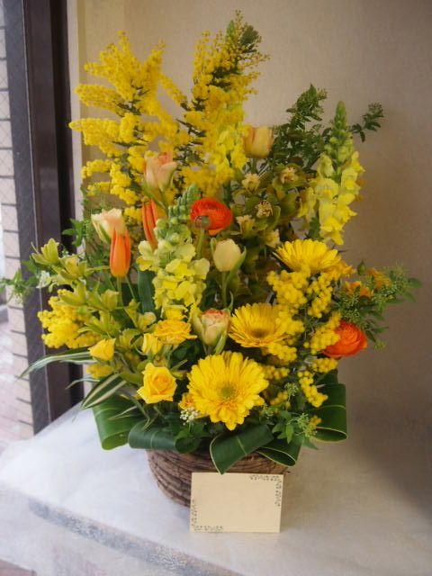 花ギフト|フラワーギフト|誕生日 花|カノシェ話題|スタンド花|ウエディングブーケ|花束|花屋|54119