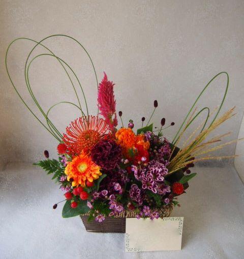 花ギフト|フラワーギフト|誕生日 花|カノシェ話題|スタンド花|ウエディングブーケ|花束|花屋|58111