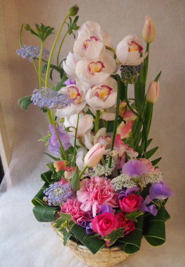 花ギフト|フラワーギフト|誕生日 花|カノシェ話題|スタンド花|ウエディングブーケ|花束|花屋|45638