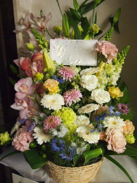 花ギフト|フラワーギフト|誕生日 花|カノシェ話題|スタンド花|ウエディングブーケ|花束|花屋|54006