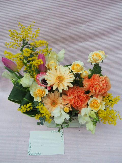 花ギフト|フラワーギフト|誕生日 花|カノシェ話題|スタンド花|ウエディングブーケ|花束|花屋|53352
