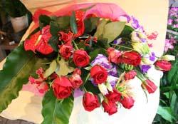 花ギフト|フラワーギフト|誕生日 花|カノシェ話題|スタンド花|ウエディングブーケ|花束|花屋|8374