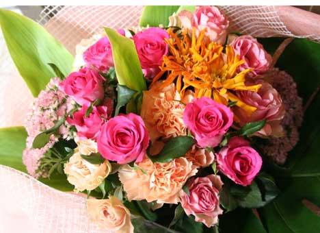 花ギフト|フラワーギフト|誕生日 花|カノシェ話題|スタンド花|ウエディングブーケ|花束|花屋|ボヌールジニア