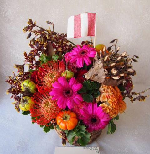 花ギフト|フラワーギフト|誕生日 花|カノシェ話題|スタンド花|ウエディングブーケ|花束|花屋|58084