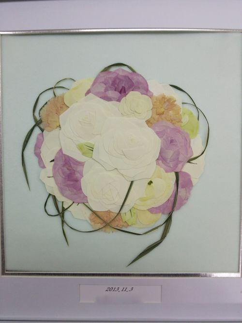 花ギフト|フラワーギフト|誕生日 花|カノシェ話題|スタンド花|ウエディングブーケ|花束|花屋|11月3日挙式_様_カノシェ