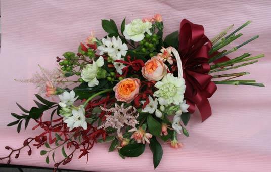 花ギフト フラワーギフト 誕生日 花 カノシェ話題 スタンド花 ウエディングブーケ 花束 花屋 IMG_7467