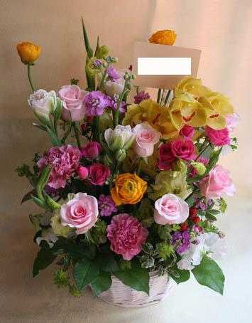 花ギフト フラワーギフト 誕生日 花 カノシェ話題 スタンド花 ウエディングブーケ 花束 花屋 haruiro