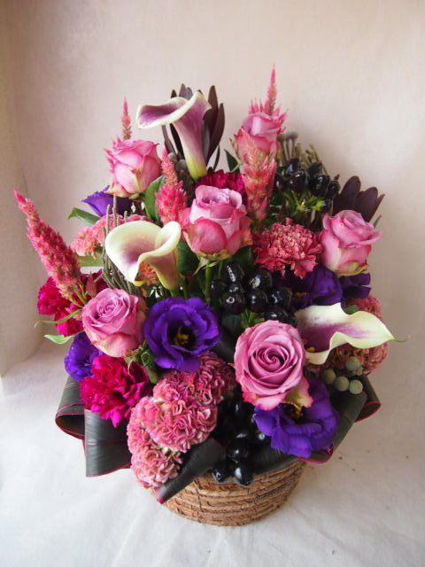 花ギフト|フラワーギフト|誕生日 花|カノシェ話題|スタンド花|ウエディングブーケ|花束|花屋|42651