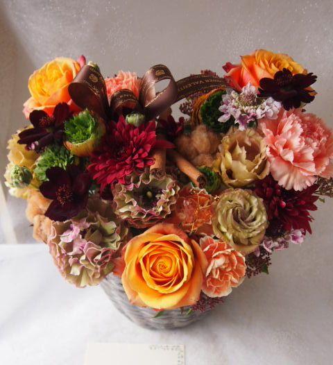 花ギフト|フラワーギフト|誕生日 花|カノシェ話題|スタンド花|ウエディングブーケ|花束|花屋|53728
