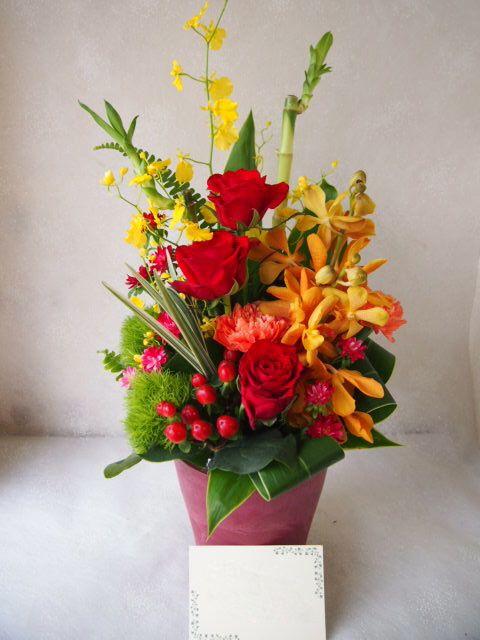 花ギフト|フラワーギフト|誕生日 花|カノシェ話題|スタンド花|ウエディングブーケ|花束|花屋|58429