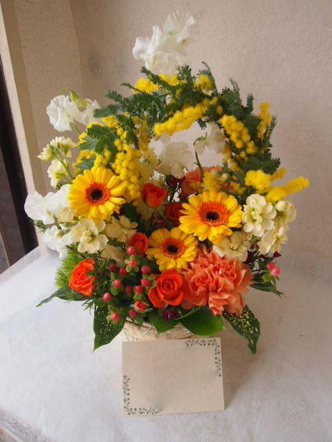 花ギフト|フラワーギフト|誕生日 花|カノシェ話題|スタンド花|ウエディングブーケ|花束|花屋|53965
