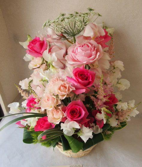 花ギフト|フラワーギフト|誕生日 花|カノシェ話題|スタンド花|ウエディングブーケ|花束|花屋|53569