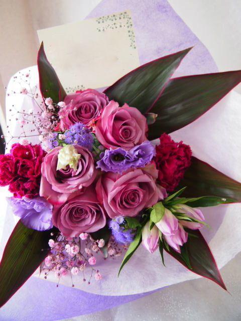 花ギフト|フラワーギフト|誕生日 花|カノシェ話題|スタンド花|ウエディングブーケ|花束|花屋|58385