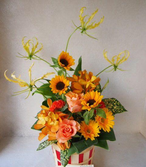 花ギフト|フラワーギフト|誕生日 花|カノシェ話題|スタンド花|ウエディングブーケ|花束|花屋|57534