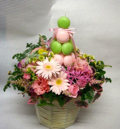 花ギフト|フラワーギフト|誕生日 花|カノシェ話題|スタンド花|ウエディングブーケ|花束|花屋|52399