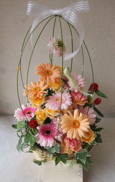 花ギフト|フラワーギフト|誕生日 花|カノシェ話題|スタンド花|ウエディングブーケ|花束|花屋|55060