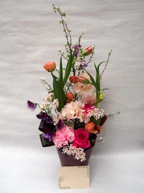 花ギフト|フラワーギフト|誕生日 花|カノシェ話題|スタンド花|ウエディングブーケ|花束|花屋|52966