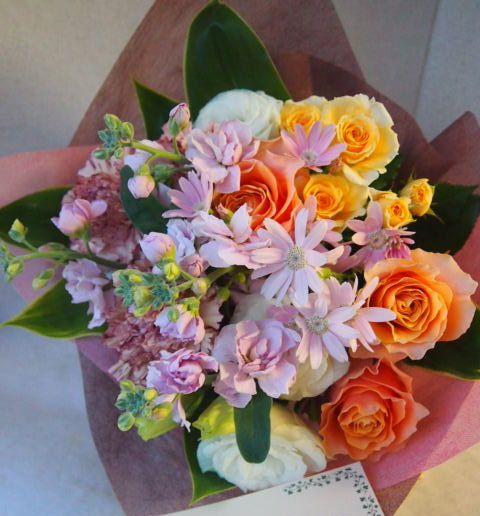 花ギフト|フラワーギフト|誕生日 花|カノシェ話題|スタンド花|ウエディングブーケ|花束|花屋|53629