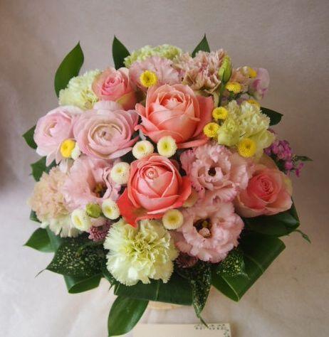 花ギフト|フラワーギフト|誕生日 花|カノシェ話題|スタンド花|ウエディングブーケ|花束|花屋|47068