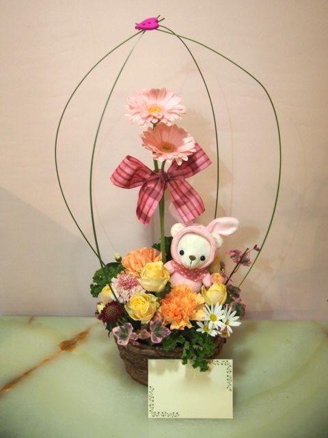 花ギフト|フラワーギフト|誕生日 花|カノシェ話題|スタンド花|ウエディングブーケ|花束|花屋|53484