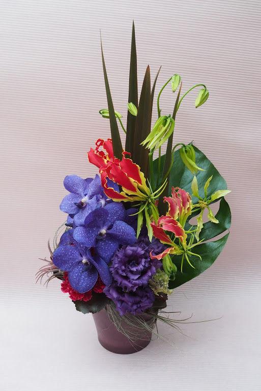 花ギフト|フラワーギフト|誕生日 花|カノシェ話題|スタンド花|ウエディングブーケ|花束|花屋|modern_new_a2
