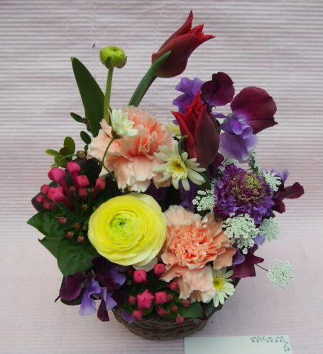 花ギフト|フラワーギフト|誕生日 花|カノシェ話題|スタンド花|ウエディングブーケ|花束|花屋|54089(1)