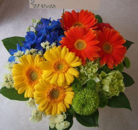 花ギフト|フラワーギフト|誕生日 花|カノシェ話題|スタンド花|ウエディングブーケ|花束|花屋|46114