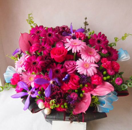 花ギフト|フラワーギフト|誕生日 花|カノシェ話題|スタンド花|ウエディングブーケ|花束|花屋|41566