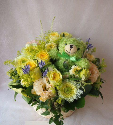 花ギフト|フラワーギフト|誕生日 花|カノシェ話題|スタンド花|ウエディングブーケ|花束|花屋|40879