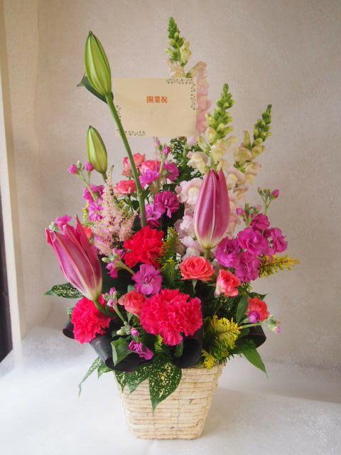 花ギフト|フラワーギフト|誕生日 花|カノシェ話題|スタンド花|ウエディングブーケ|花束|花屋|52184