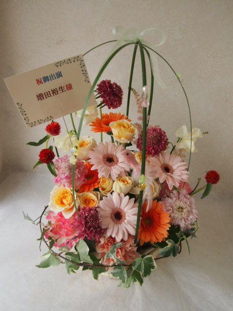 花ギフト|フラワーギフト|誕生日 花|カノシェ話題|スタンド花|ウエディングブーケ|花束|花屋|54164