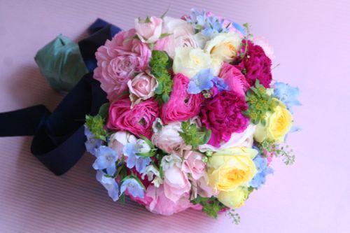花ギフト|フラワーギフト|誕生日 花|カノシェ話題|スタンド花|ウエディングブーケ|花束|花屋|IMG_0747