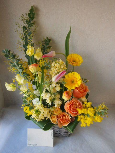 花ギフト|フラワーギフト|誕生日 花|カノシェ話題|スタンド花|ウエディングブーケ|花束|花屋|53134