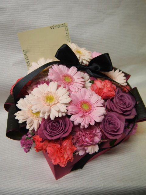 花ギフト|フラワーギフト|誕生日 花|カノシェ話題|スタンド花|ウエディングブーケ|花束|花屋|53152(1)
