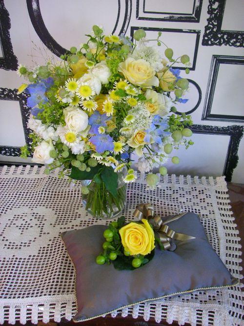 花ギフト|フラワーギフト|誕生日 花|カノシェ話題|スタンド花|ウエディングブーケ|花束|花屋|P1010033