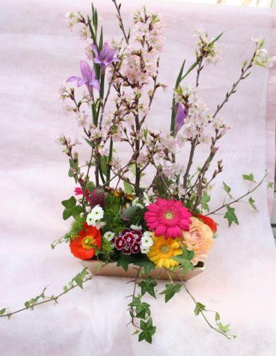 花ギフト|フラワーギフト|誕生日 花|カノシェ話題|スタンド花|ウエディングブーケ|花束|花屋|IMG_6937