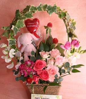 花ギフト|フラワーギフト|誕生日 花|カノシェ話題|スタンド花|ウエディングブーケ|花束|花屋|まさみさんうさい