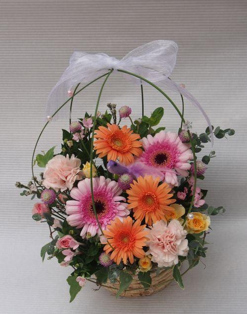 花ギフト|フラワーギフト|誕生日 花|カノシェ話題|スタンド花|ウエディングブーケ|花束|花屋|58109