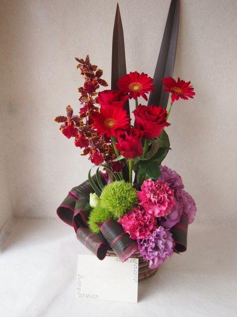 花ギフト|フラワーギフト|誕生日 花|カノシェ話題|スタンド花|ウエディングブーケ|花束|花屋|48848